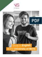 Study in English - 2016