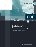 Oliver Wyman Transaction Banking Trade Finance
