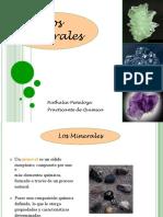 Suelos-Los Minerales