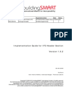 ImplementationGuide IFCHeaderData Version 1.0.2