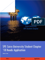 SPE CUSC18 Heads Application