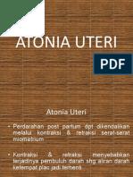 Ppt Atonia-uteri Kbi,Kbe,Kaa