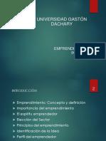 Emprendimientos e Innovacion - Unidad i - Emprendimientos i