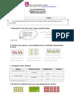 Taller Multiplicacion y Division Tercero Basico