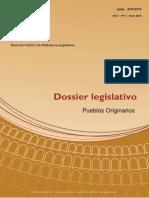 DOSSIER Legislativo A1N7 Pueblos Originarios. Doctrina y Jurisprudencia