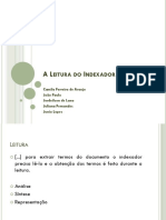 A Leitura do Indexador.ppt