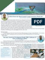 Coastline News Letter 2017 Edition 1