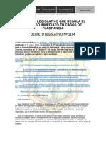 Decreto Legislativo Nº 1194