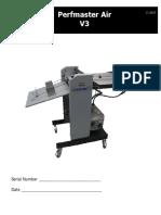 Count Perfmaster Air V3 User Manual