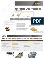 Innovations for Potato Chip Processing