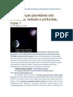 000As Mudanças Planetárias São Inevitáveis, Radicais e Profundas