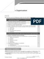 F1-01 the Business Organisation
