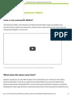 The Eisenhower Matrix_ Introduction & 3-Minute Video Tutorial