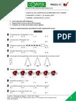 Subiect Matematica EtapaI 2016 2017 ClasaI
