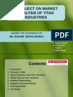 Ppt on Marketing Analysis of Titan Watches in Guwahati
