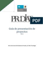 Guia de Presentacion de Proyectos