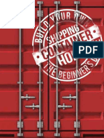 Brodie Norris Build Your Own Shipping Container Home the Beginners Guide