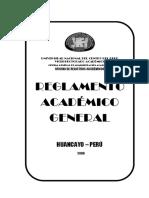 reglamento academico uncp