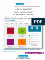 Guide Du Candidat 2017