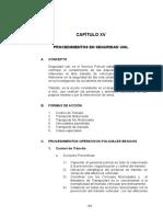 CAPITULO XV Procedimientos en Seguridad Vial