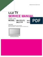 Lg 26lc51 26lc51a_ 26lc7r_ 26lc7r-Za-chassis Lp78a Servicemanual
