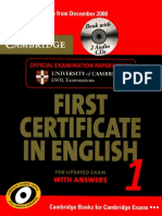 First Certificate in English 1 for Updated Exam with answers [Cambridge].pdf