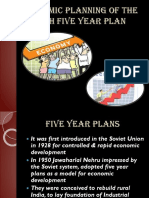 Economic Planning of the 10th Five Year Plan