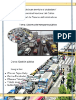 Transporte Publico