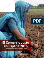 Informe España 2016 Comercio Justo