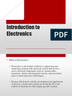 1 Introduction to Electronics