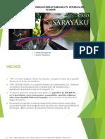 Exposición - Sarayaku vs. Ecuador