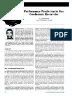 PETSOC-99-08-DA Performance Prediction in Gas Condensate Res