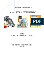 Documento Cibercuidado y Ciberdelitos