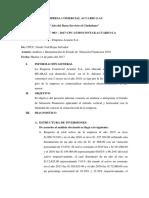 INFORME N° 003 - EMPRESA ACUARIO_GISELA