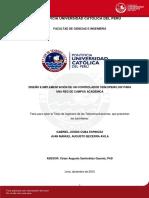 Cuba Gabriel Becerra Juan Manuel Diseño Controlador