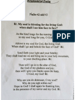 Psalm Funeral