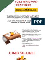 7 Pasos Clave Para Eliminar Celulitis Rápido