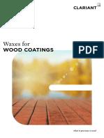 Waxes for Wood Coatings