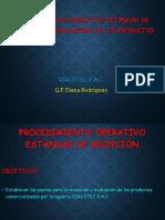 Diapositiva de de Recepción