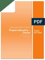 Projeto Educativo Creche 2017-2020