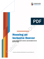 Housing an Inclusive Denver Public Review Draft