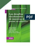 Borsani&Quintero_Los desafios decoloniales de nuestros dias Pensar en colectivo.pdf