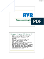 Kum c Pelatihan Pemrograman Mikrokontroler Atmega16 Menggunakan Bahasa c