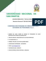 Diplomado Unsm Examen 01