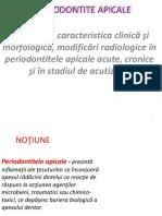 Periodontitele