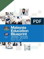 3. Malaysia Education Blueprint 2015-2025 Higher Education