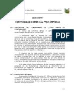 Obigacion Del Comerciante de Llabar Libros de Contabilidad Segun Derecho Comercial Peru