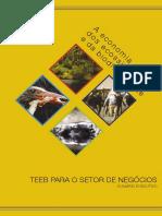 A Economia Dos Ecossistemas e da Biodiversidade
