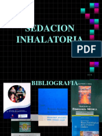 sedación inhalatoria
