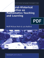 Wolff-Michael Roth, Luis Radford a Cultural-Historical Perspective on Mathematics Teaching and Learning